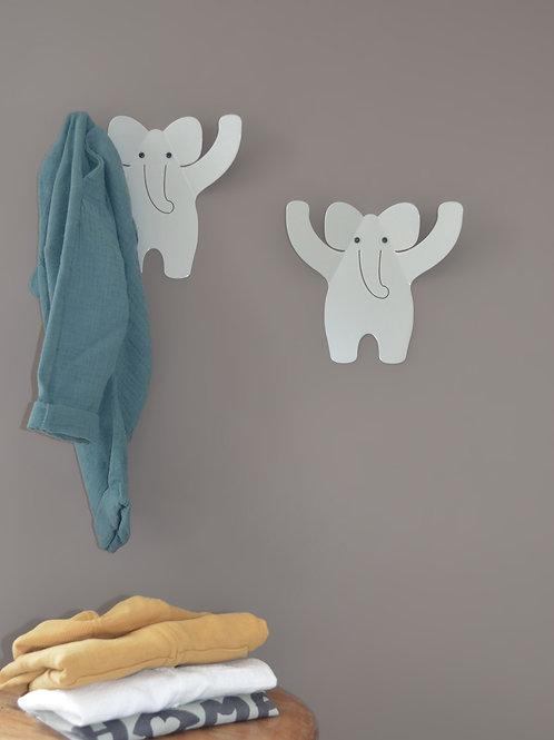 Colgador elefante