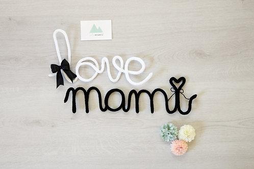 Love mami tejido