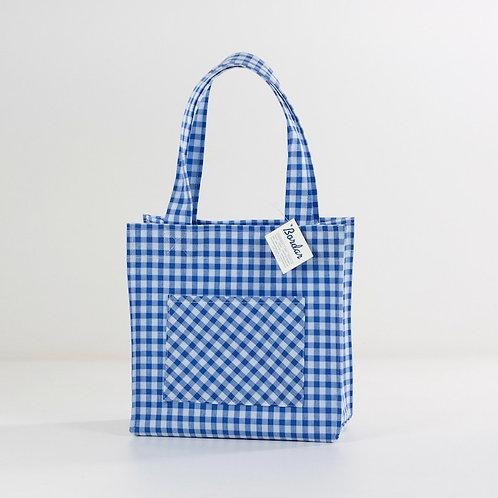Bolso Harry Vichy azul