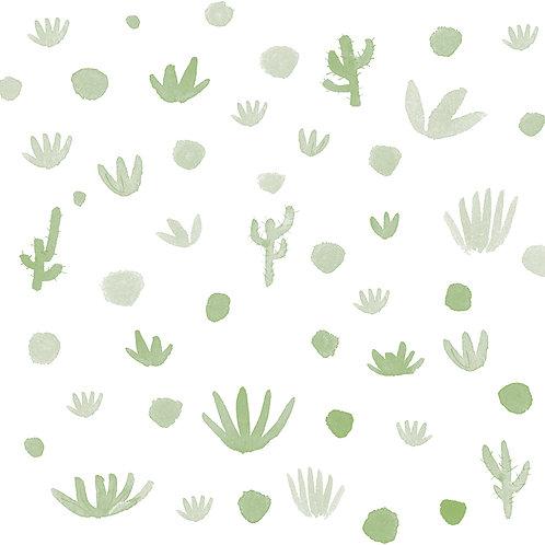 Papel Cactus verde