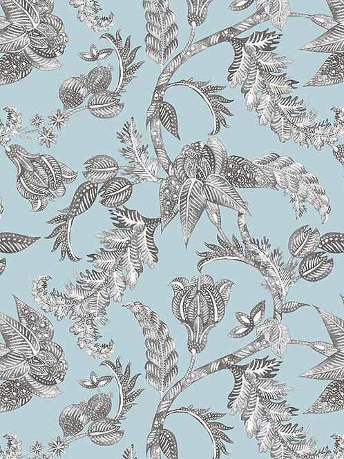 Papel pared Royal Batik Antracita - Egeo
