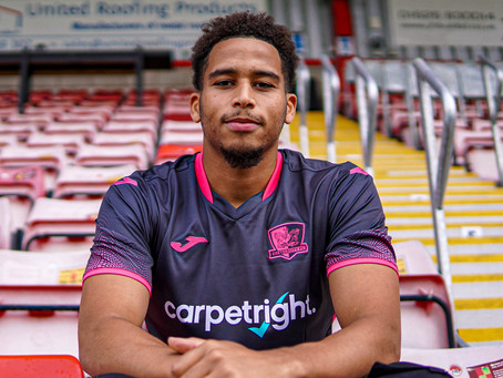 SAM NOMBE SIGNS: EVERYTHING YOU NEED TO KNOW ABOUT EXETER CITY'S NEW NUMBER 10