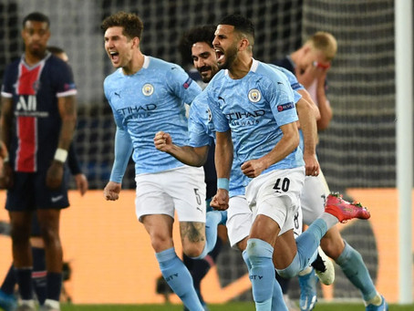 PSG 1-2 MANCHESTER CITY ANALYSIS: SECOND HALF COMEBACK PUTS PEP'S SIDE IN THE DRIVERS SEAT