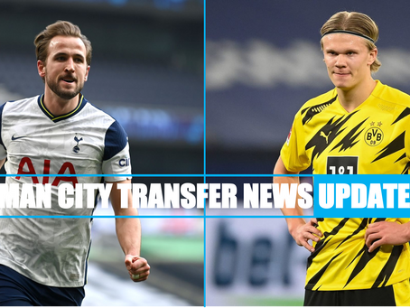 KANE OR HAALAND: GUARDIOLA'S AGUERO TRANSFER REPLACEMENTS REVEALED
