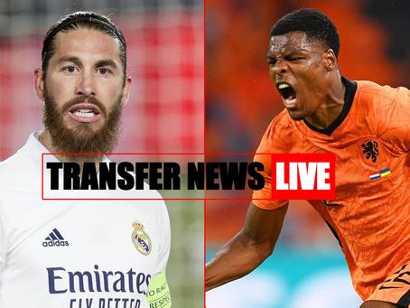 Transfer News LIVE: Ramos PL bound, Everton battle Inter for Dumfries, Trippier bid rejected + more