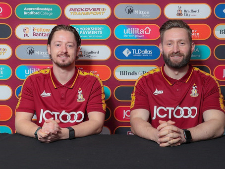 THE TRUEMAN SHOW: PROMOTION NOW IN REACH FOR REBORN BRADFORD AS DUO APPOINTED