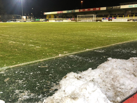 EXETER CITY: HARROGATE TOWN GAME POSTPONED AS MATT TAYLOR ADMITS 'WORRY' OVER PROMOTION PUSH