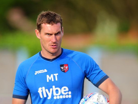 RANDELL WILLIAMS IN SAM STUBBS OUT: EXETER CITY MANAGER MATT TAYLOR AHEAD OF CAMBRIDGE UNITED AWAY