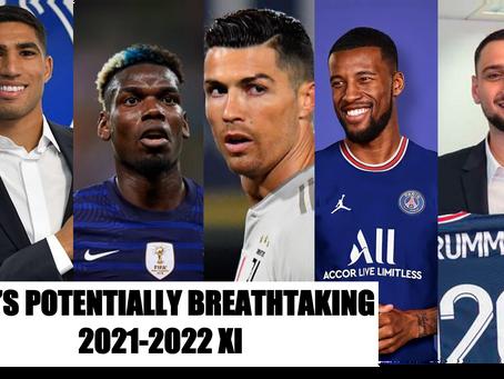 PSG'S POTENTIALLY BREATHTAKING 2021-2022 XI WITH POGBA, DONNARUMMA AND RONALDO