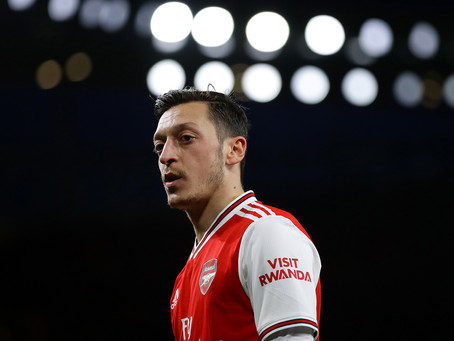 OZIL CLOSING IN ON DREAM MOVE TO CHILDHOOD CLUB IN MAJOR ARSENAL U-TURN