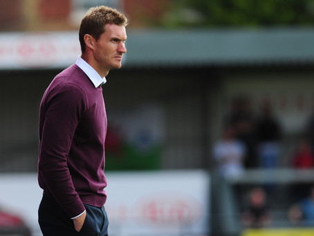 """IT'S TWO GOOD TEAMS GOING AT IT"": MATT TAYLOR ON EXETER'S FIXTURE AGAINST CARLISLE"