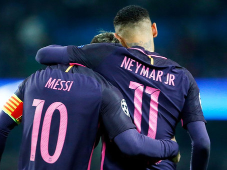 BYE BYE BARCA: NEYMAR BEGS MESSI TO JOIN PSG AS MBAPPE HEADS FOR EXIT DOOR