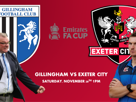 """ALL TO PLAY FOR THIS WEEKEND"": EXETER BOSS SPEAKS OUT AHEAD OF THEIR FA CUP CLASH WITH GILLINGHAM"