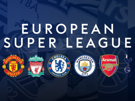 FOOTBALL'S DARKEST HOUR: WHY THE EUROPEAN SUPER LEAGUE IS THE END OF ELITE FOOTBALL