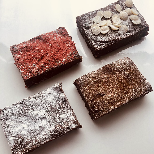 Classic Letterbox Brownie Selection Box
