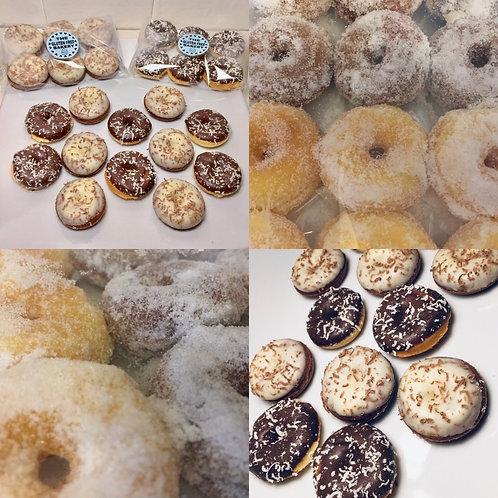 Mixed Box of Mini Doughnuts (Box of 24)