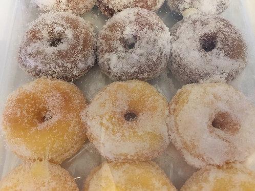 Mini Sugared Doughnuts (Box of 24)