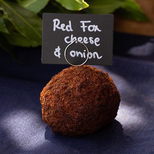 Red Fox Cheese & Onion Scotch Egg