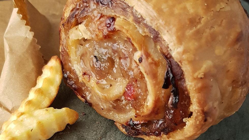 Pork & Caramelised Onion Roulade