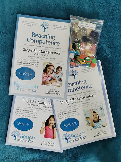Books 11 12 13 with essentials pack