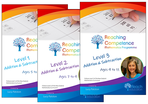 Addition and Subtraction Set Printed Hard Copy