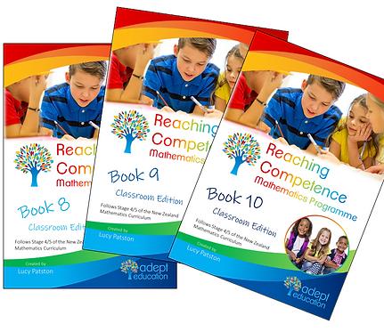 Books 8, 9 & 10 Classroom Set of 30 Bound Books