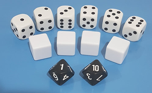 Assorted Dice 12-pack