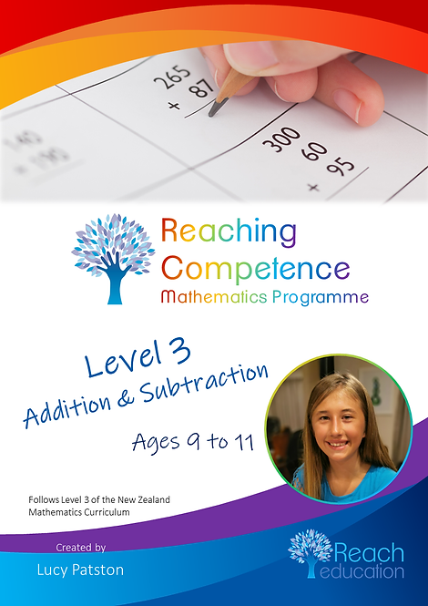 Level 3 Addition and Subtraction Printed Hard Copy