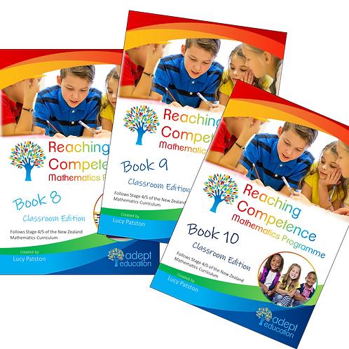 Books 8-10 Classroom Set Digital PDFs