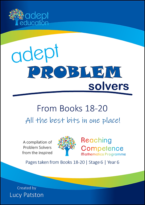 Books 18-20 Adept Problem Solvers Compilation e-Copy