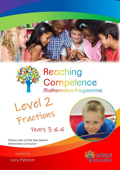 Level 2 Fractions e-Copy