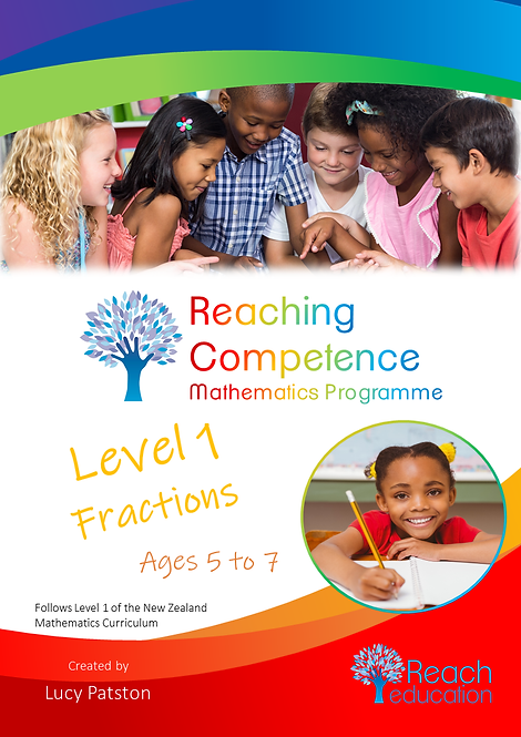 Level 1 Fractions Printed Hard Copy