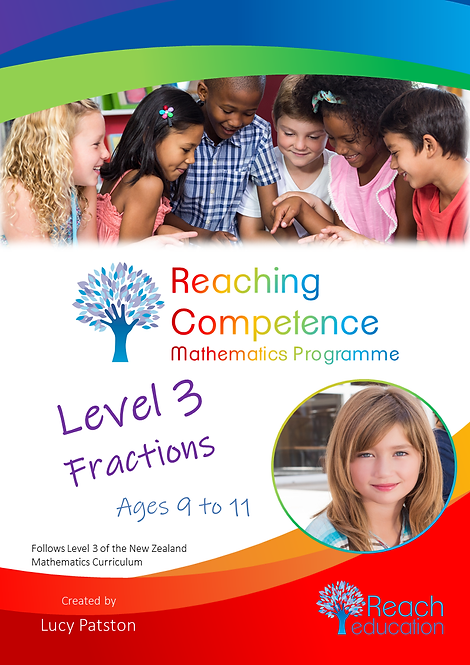 Level 3 Fractions Printed Hard Copy