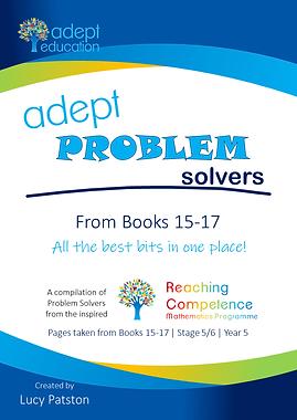 Books 15-17 Adept Problem Solvers Compilation