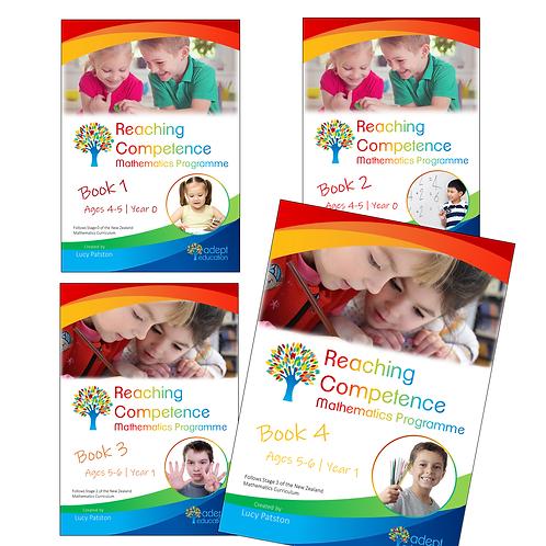 Books 1-4 Set e-Copy 2020 Edition