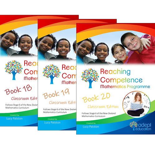 Books 18-20 Classroom Set Digital PDFs