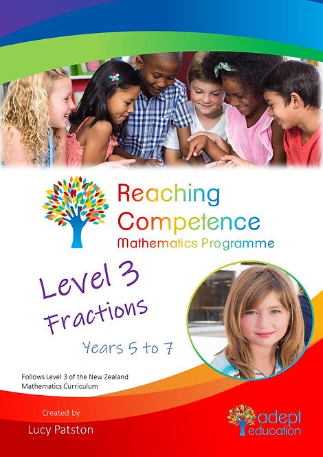 Level 3 Fractions e-Copy