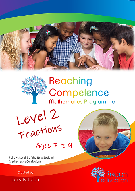 Level 2 Fractions Printed Hard Copy