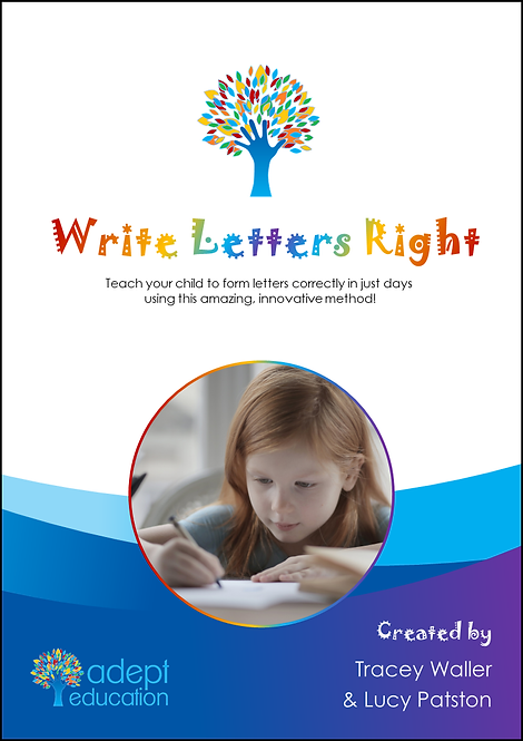Write Letters Right Printed Copy