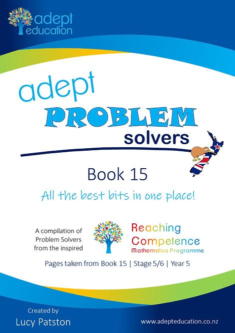 Adept Problem Solvers Book 15 e-Copy