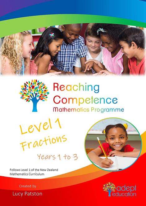 Level 1 Fractions e-Copy