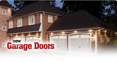 New & Replacement Garage Doors