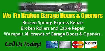 At R G Specialty we fix garage doors, new garage doors, new garage door openers, garage door springs, garage door repairs, garage door tune up service. We fix it right! the first time.