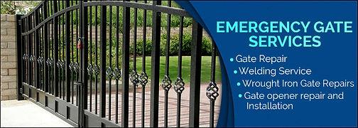 Emergency Gate Service, Emergency Gate Repair, Gate Service, Gate Repair.