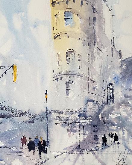 """Soft Light"" Original 8x10 Watercolor"