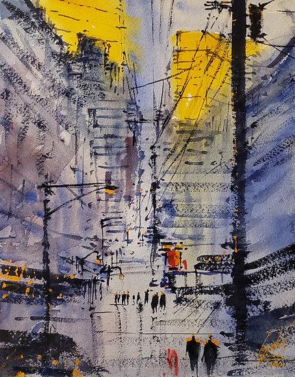 """Power Lines"" 8x10 print"