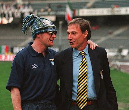 Skøre Gazza og Zeman i 1995