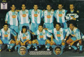 Eriksson-æraen: en guldalder for Lazio