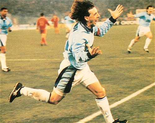 Signori scorer i Derby '94