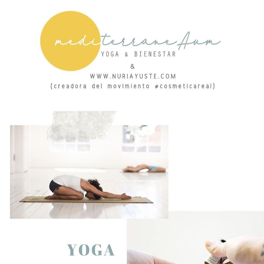 """Taller de """"Yoga y Aceites Esenciales"""""""